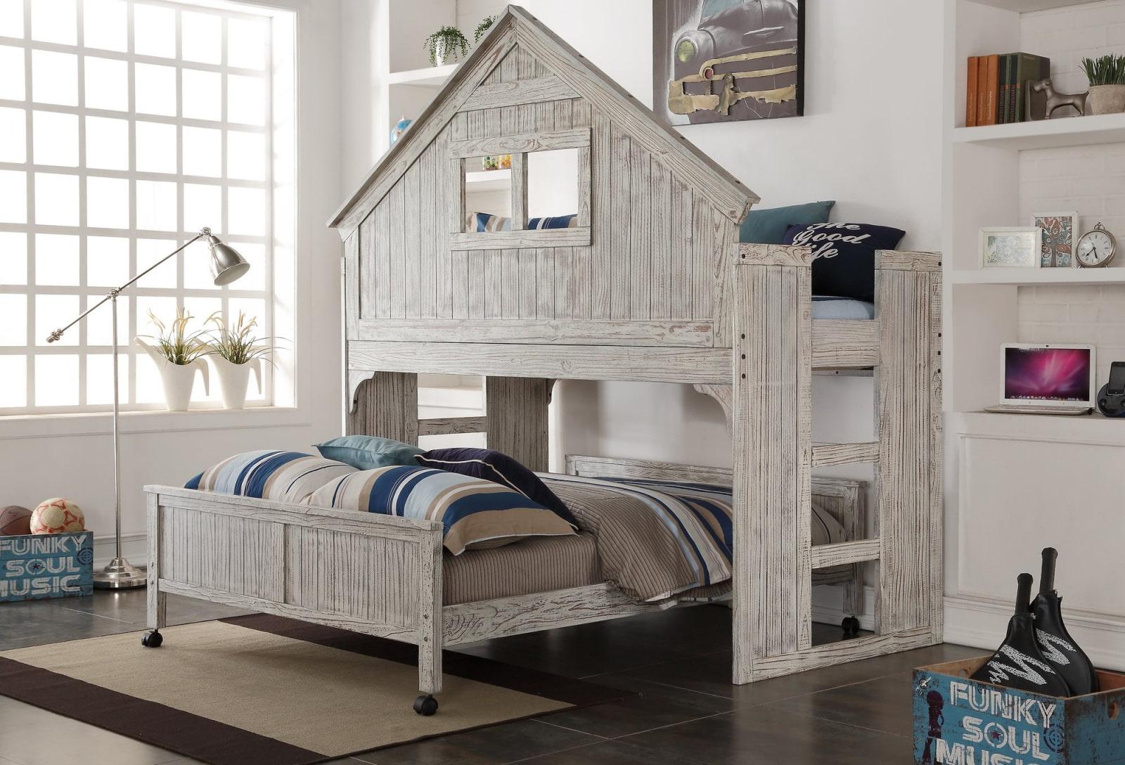 кровать домик идеи варианты