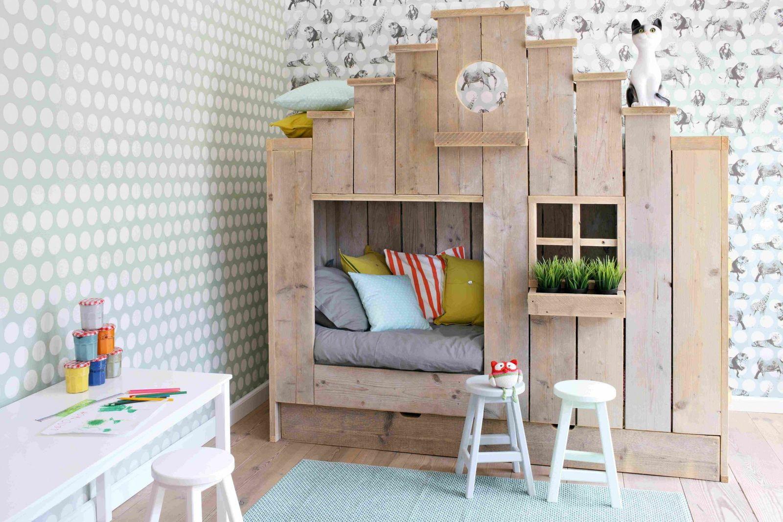 кровать домик идеи