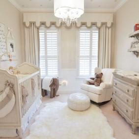комната для новорожденного фото видов