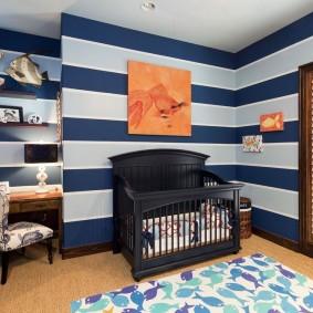 комната для новорожденного фото интерьер