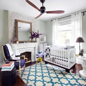 комната для новорожденного идеи декора