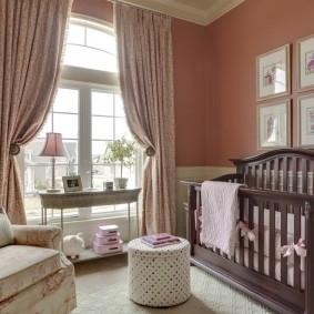 комната для новорожденного оформление идеи