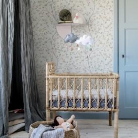 кроватка для новорожденного идеи дизайн