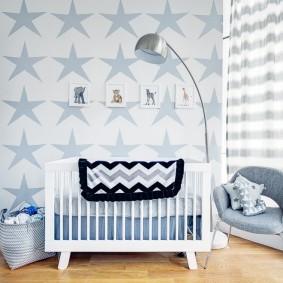 кроватка для новорожденного фото декора