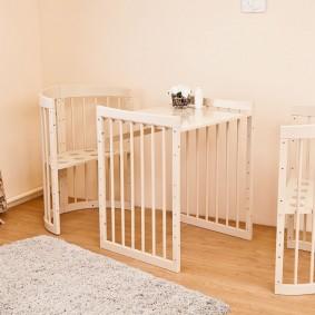 кроватка для новорожденного идеи декор