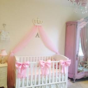 кроватка для новорожденного идеи