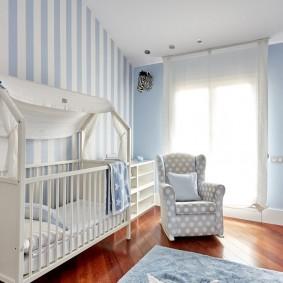 кроватка для новорожденного фото интерьер