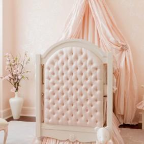 кроватка для новорожденного идеи интерьер