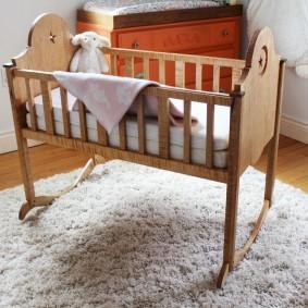 кроватка для новорожденного идеи интерьера