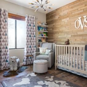 кроватка для новорожденного фото оформления