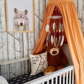 кроватка для новорожденного идеи фото