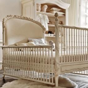 кроватка для новорожденного идеи оформление