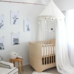 кроватка для новорожденного варианты фото