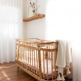 кроватка для новорожденного идеи вариантов