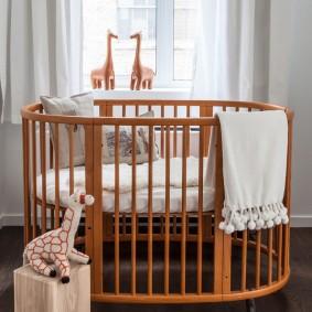 кроватка для новорожденного фото идеи