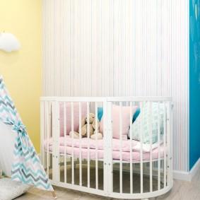 кроватка для новорожденного виды идеи