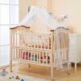 кроватка для новорожденного идеи виды