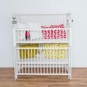 кроватка для новорожденного обзор