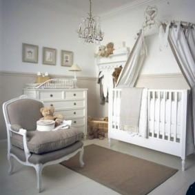 кроватка для новорожденного виды дизайна