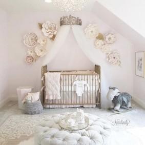 кроватка для новорожденного виды оформления