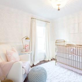 кроватка для новорожденного дизайн