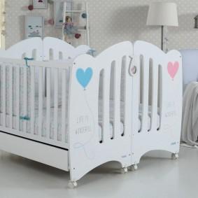 кроватка для новорожденного дизайн фото