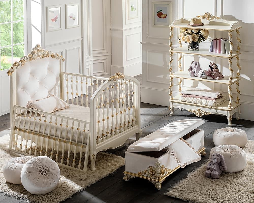 кроватка классический стиль