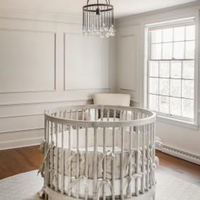 кроватки для новорожденных оформление фото
