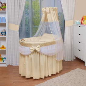 круглая детская кроватка фото