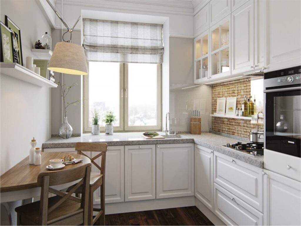 Интерьер кухни в сталинке с тремя комнатами