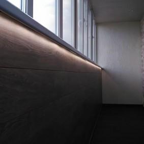 ламинат на балконе виды идеи