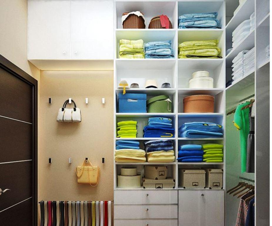 маленькая гардеробная комната фото варианты