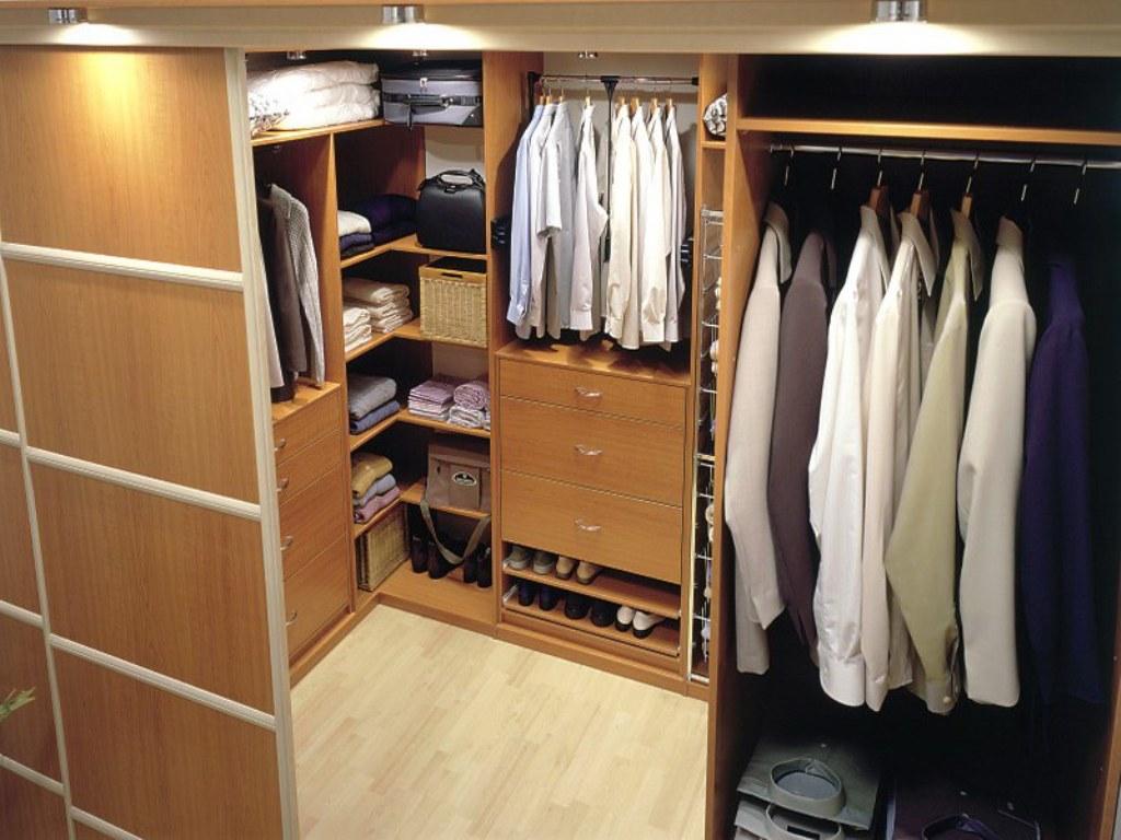 маленькая гардеробная комната идеи