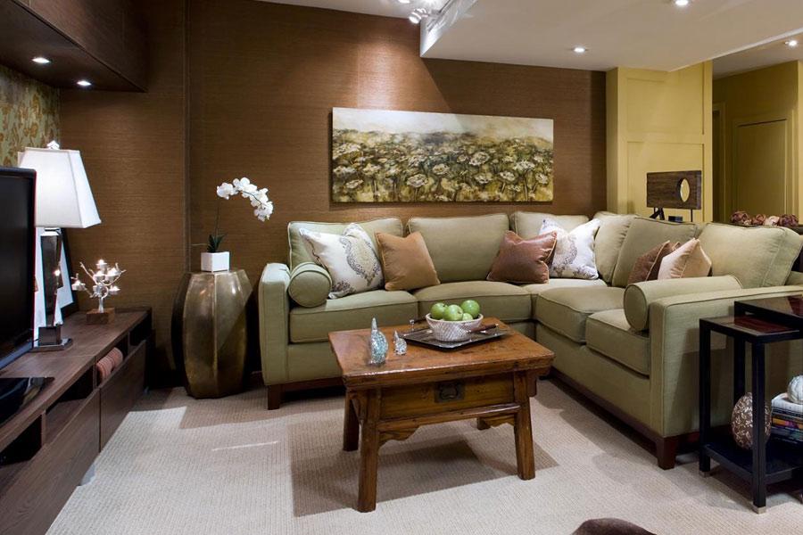 Угловой диван раскладного типа