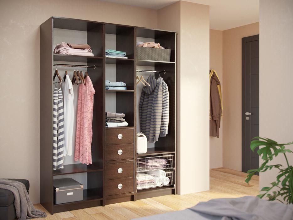 дизайн модульной гардеробной