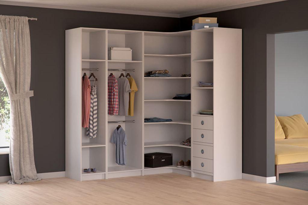 модульная гардеробная идеи