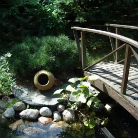 мостик для дачи дизайн