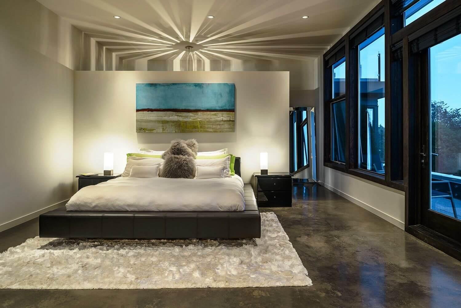 наливной пол в спальне