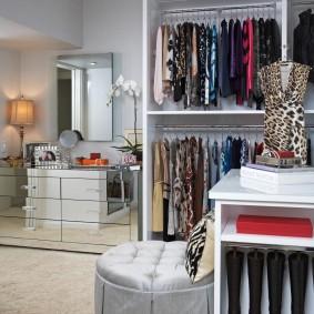 наполнение для шкафов и гардеробных в доме идеи