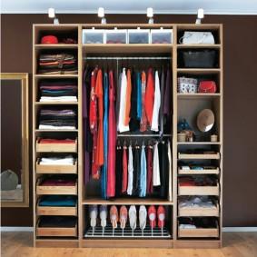 наполнение для шкафов и гардеробных в квартире