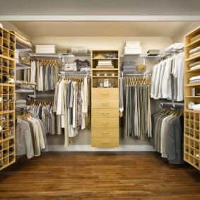 наполнение для шкафов и гардеробных в квартире фото