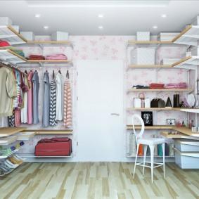 наполнение для шкафов и гардеробных идеи