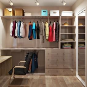 наполнение для шкафов и гардеробных виды фото