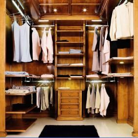 наполнение для шкафов и гардеробных виды идеи