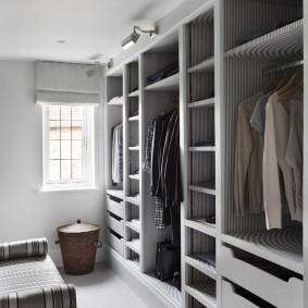 наполнение для шкафов и гардеробных оформление