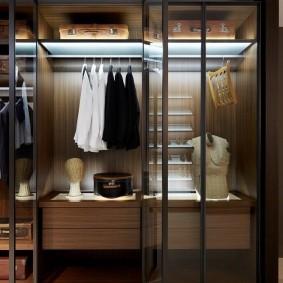 наполнение для шкафов и гардеробных фото оформление