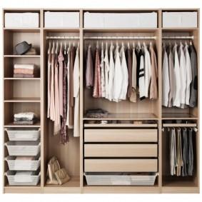 наполнение для шкафов и гардеробных идеи оформление