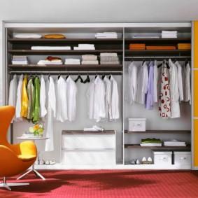 наполнение для шкафов и гардеробных виды обустройства