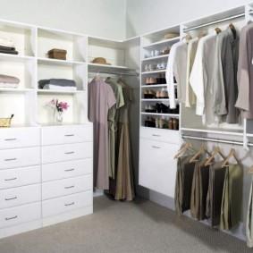 наполнение для шкафов и гардеробных виды оформления