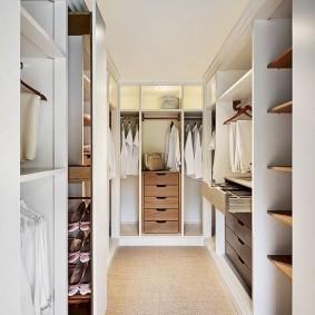 наполнение для шкафов и гардеробных варианты дизайна